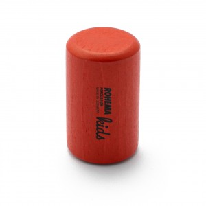 Color Shaker aus rot lackierter Buche mit mittlerer Klangfarbe