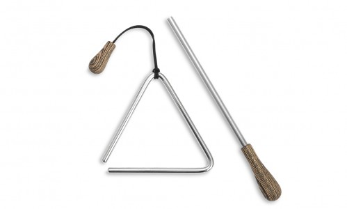 Triangel 10cm Set inkl. Triangelschlägel TM061