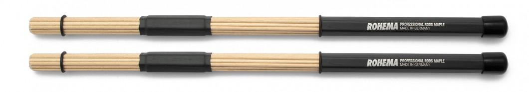 Professional Maple Rods aus Ahorn mit Gummigriff