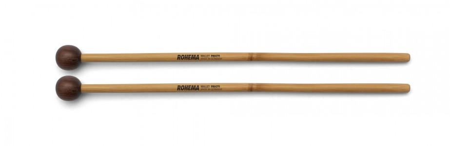 Schlägel PM479 aus Bambus mit Palisanderkugel