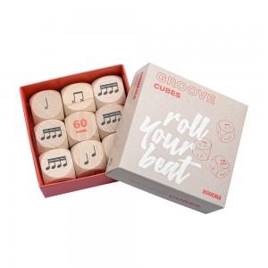 618111 Groove Cubes - Rhythmuswürfel
