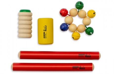Buntes Rhythmus Instrumente Set für Kinder
