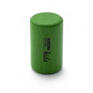 Color Shaker aus grün lackierter Buche mit tiefer Klangfarbe