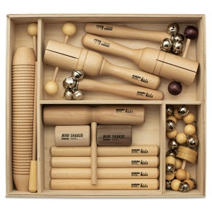 Percussion Instrumente Set 3 mit 13 Rhythmusinstrumenten