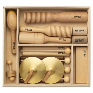 Percussion Instrumente Set 2 mit 13 Rhythmusinstrumenten