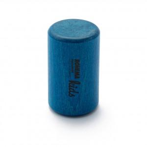 Color Shaker aus blau lackierter Buche mit sehr tiefer Klangfarbe