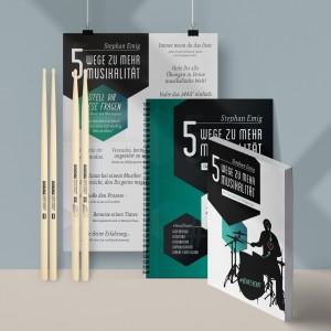 Kurs von Stephan Emig inklusive Drumsticks