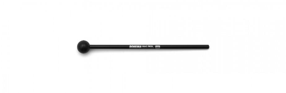 Schlägel PM753 aus Kunststoff mit schwarzer Gummikugel