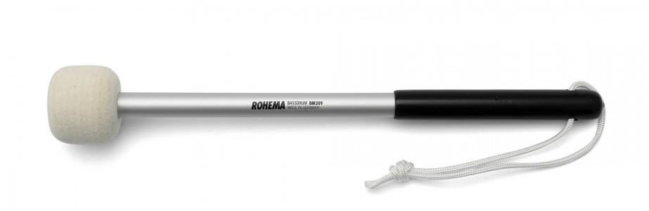 Schlägel BM209 aus Aluminium mit weißer Filzscheibe