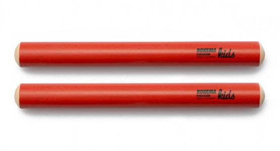 Klanghölzer Ø20mm aus rot lackierter Buche