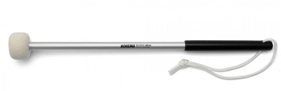 Schlägel BM206 aus Aluminium mit weißer Filzscheibe