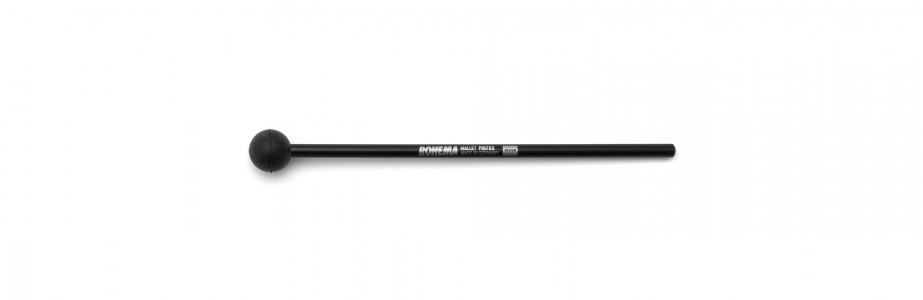 Schlägel PM752 aus Kunststoff mit schwarzer Gummikugel