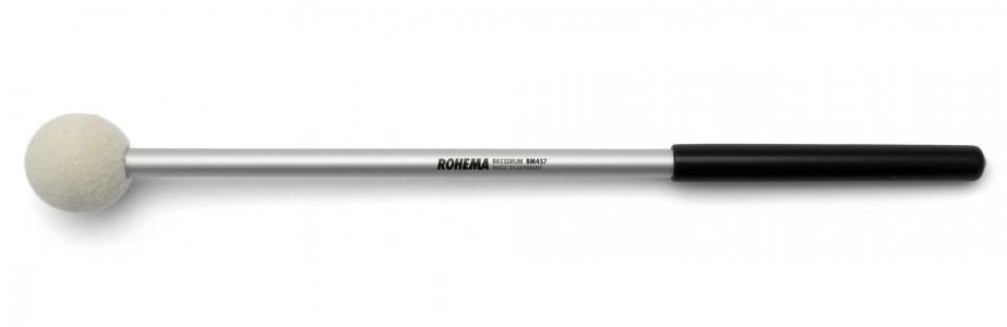Schlägel BM457 aus Aluminium mit weißer Filzkugel