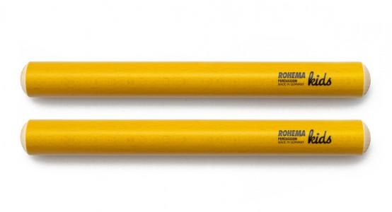 Klanghölzer Ø20mm aus gelb lackierter Buche