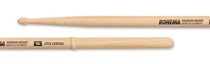 Drumstick 5A Stick Control Lackiert aus Hickory