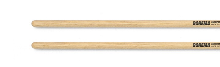 Timbale Drumstick 8mm Lackiert aus Hickory