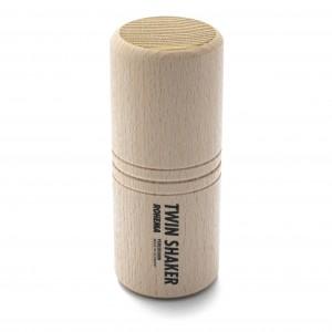 Twin Shaker aus Buche und Akazie mit hoher Klangfarbe