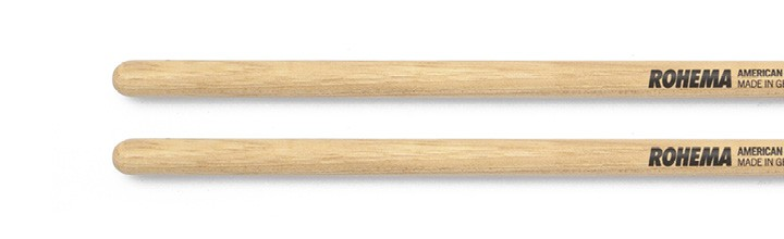 Timbale Drumstick 12mm Lackiert aus Hickory