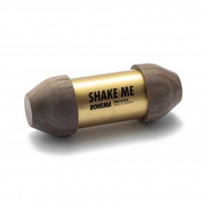 Shake Me aus Nussbaum und Metall mit tiefer Klangfarbe